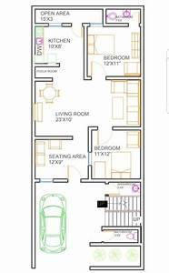 25x50, House, Plan