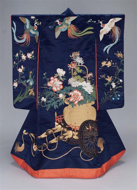 kimono uchikake museum  fine arts boston