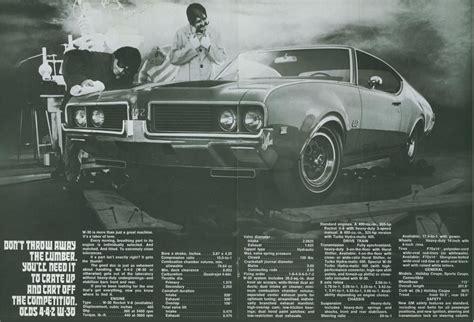 Car Brochures  1969 Olds W30  69olds442w3003jpg