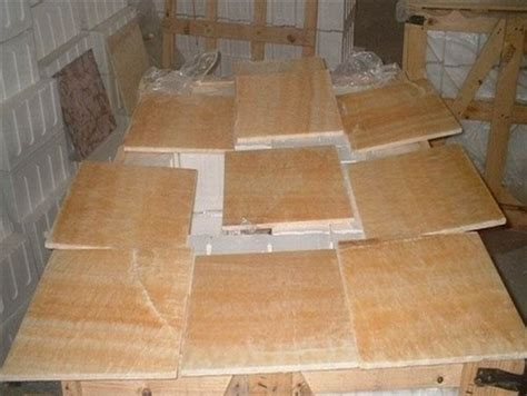 buy  premium select honey onyx solid polished tiles