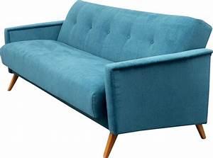 canape bleu vintage idees novatrices de la conception et With canapé lit retro