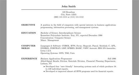 spacing helvet  moveleft  resume tex latex