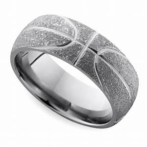 Cool men39s wedding rings for sports fanatics for Mens wedding ring bands