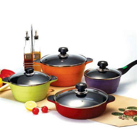 cookware aluminum tradekorea cooking kitchen sets