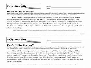Essay On Mahatma Gandhi The Raven Critical Analysis Essay Examples Essays On Veterans also Clep College Composition Essay The Raven Analysis Essay Writing A Strong Thesis Statement The Raven  Essay On Malnutrition