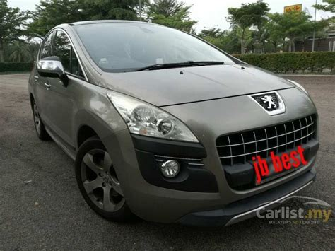 peugeot automatic used cars peugeot 3008 2011 1 6 in johor automatic suv grey for rm