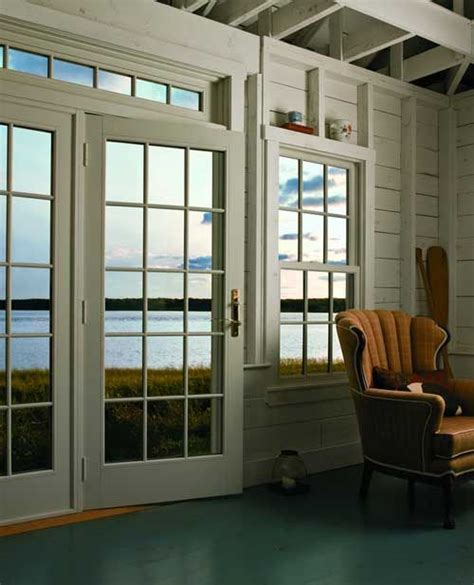 andersen series frenchwood hinged patio door inswing series woodwright double hung