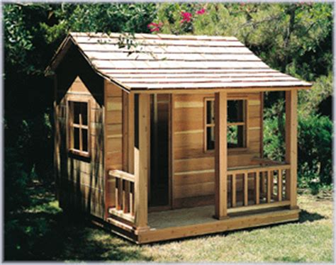 playhouse  bild woodworking plan   childrens