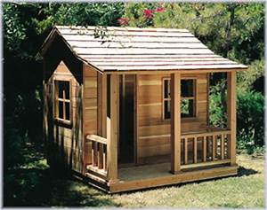 Playhouse – U-Bild Woodworking Plan No 881 - Children's