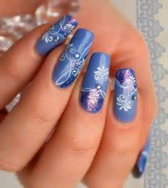 Nails blue you can stick on caviar alternative to