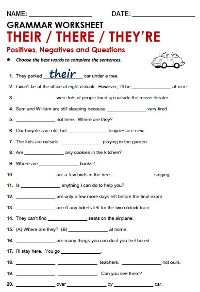 number names worksheets 187 is and are grammar worksheets