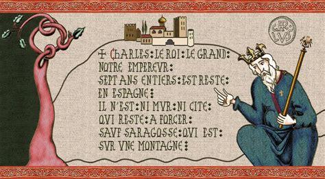 la chanson de roland page 1 charlemagne est en espagne