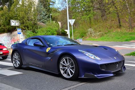 2010 ferrari california start up exhaust and in depth tour. Ferrari Tailor Made F12 TDF Dressed in Blu Opaco Has Strong Matte Shine - autoevolution