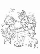 Coloring Nativity Pages Scene Animals Angels Christmas Colouring Animal Printable Adult Precious Moments Angel Supercoloring Shepherds Template Results Pdf Jesus sketch template
