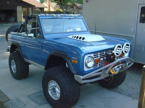 blue bronco car blue early bronco cool cars motorcycles pinterest