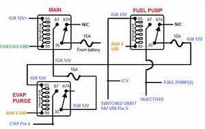 1984  240  Fuel Pump Relay Replacement