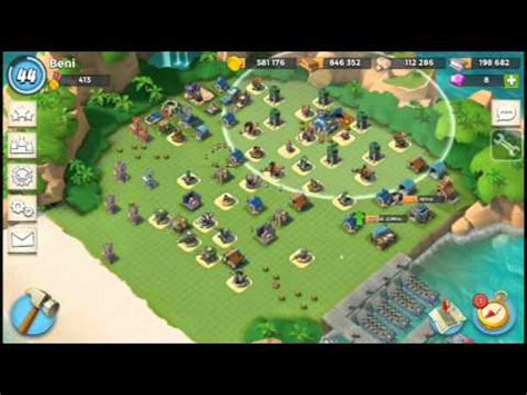 foto de Boom Beach best base Layouts for hq level 17 18 YouTube