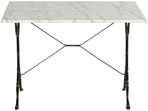 ikea cuisine toulouse table rectangulaire en marbre et métal noir java vente