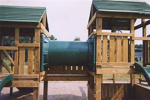 Wooden Commercial Wood Playground Equipment PDF Plans