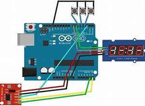 Making A Digital Clock   Arduino 7 Segment 4 Digit Tm1637