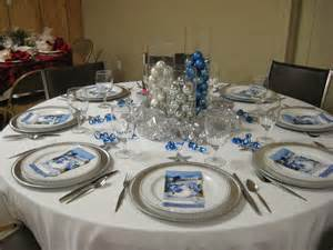 new silver and blue christmas table decorations homekeep xyz