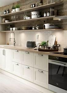 Ikea Küche Holz : die besten 25 k che wei holz ideen auf pinterest k che ~ Michelbontemps.com Haus und Dekorationen