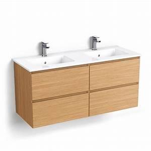 Meuble Salle De Bain 140 Cm Double Vasque : meuble de salle de bain double vasque 140 interesting ~ Dailycaller-alerts.com Idées de Décoration