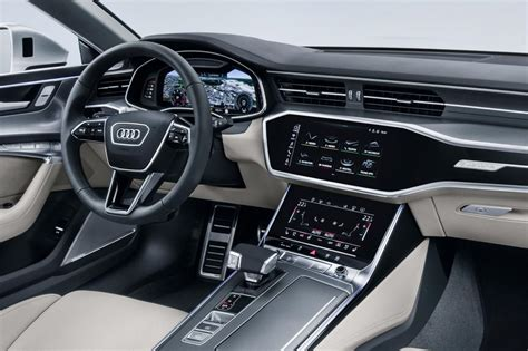 audi a7 interior new audi a7 sportback revealed pictures auto express
