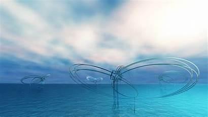 Structure Water Digital Cgi Desktop Wallpapers