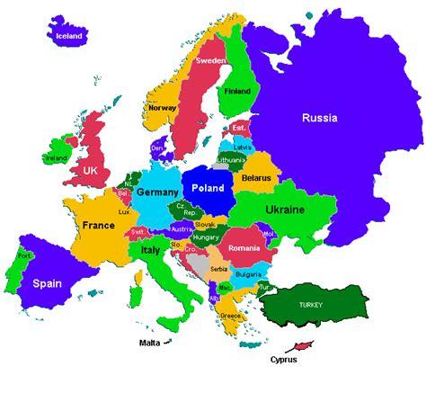 La Carte Du Monde Europe by Carte Du Monde Avec Pays