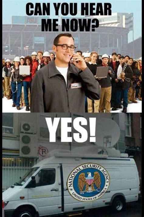 Nsa Meme - nsa surveillance 30 serious jokes amusing threats random story