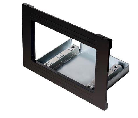 """Kenmore 23309 30"""" Countertop Microwave Trim Kit Black"""