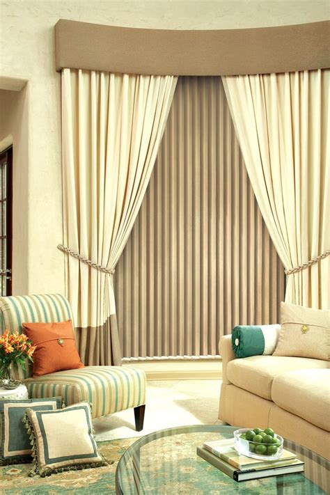 Living Room Curtain And Blind Ideas by 1000 Images About Vertical Blinds On Tassels