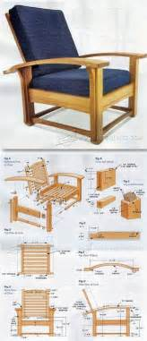 morris chair plans furniture plans and projects