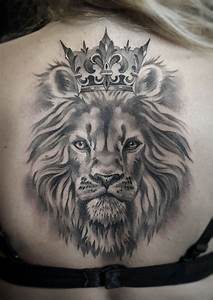 Lion Head With Crown Tattoo | www.pixshark.com - Images ...