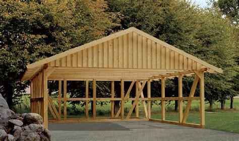 Garage Scheune Kaufen by Doppelcarport Mit Dachlattung Sams Gartenhaus Shop