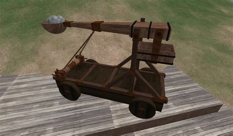 Parts Roman Catapult Diagram Schematics For