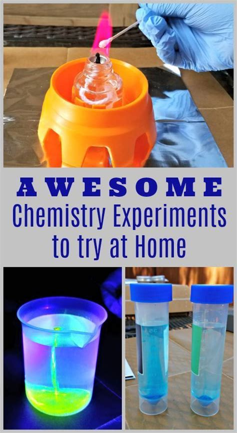 chemistry experiments  kids    home