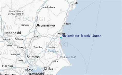 Nakaminato, Ibaraki, Japan Tide Station Location Guide