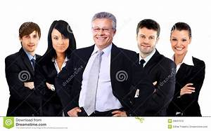 Group Of Business People. Isolated Over White Background ...