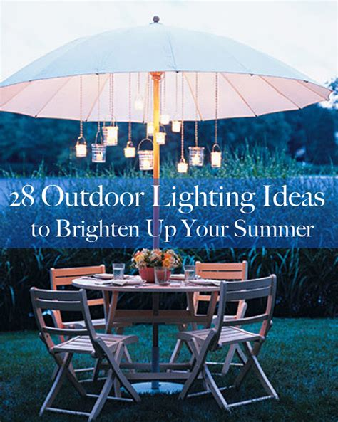 28 outdoor lighting diys to brighten up your summer