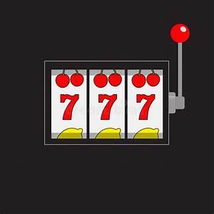 Slot Machine. 777 Jackpot. Lucky Sevens. Cherry, Lemon Row ...