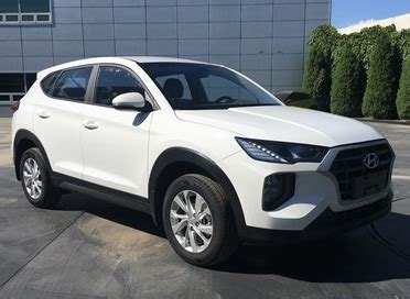 hyundai tucson   unique fascias  facelift  china