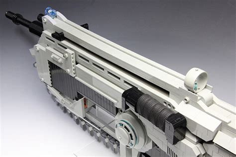 lego gears  war lancer rubber band assault rifle