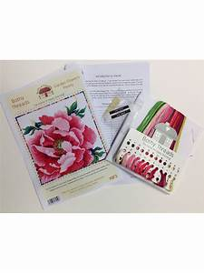 Bothy Threads Peony Counted Cross Stitch Kit At John Lewis