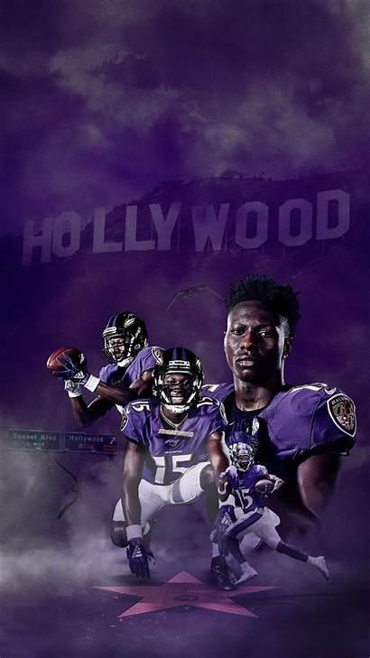Lamar Jackson Cool Rown Hollywood Before Head