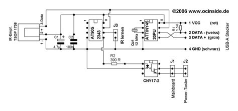 usb optical mouse circuit diagram the wiring diagram