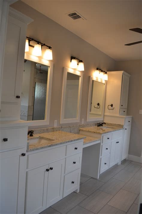 Custom Craftsman Style Master Bathroom Craftsman