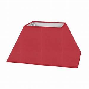 Abat Jour Rouge : abat jour rectangulaire pyramidal ~ Teatrodelosmanantiales.com Idées de Décoration
