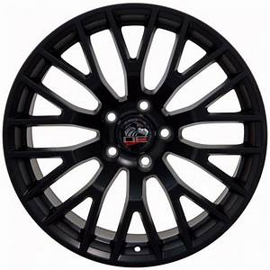 "19"" Fits Ford - 2015 Mustang GT Wheels - Satin Black 19x8.5 SET -TexasMustang.com"